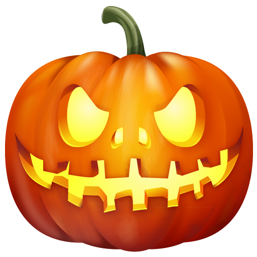 Vector pumpkins horror. Halloween png icons images