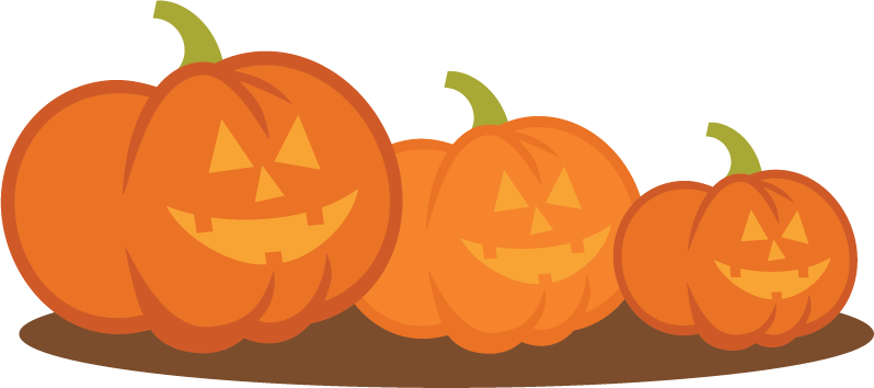 Transparent pumpkins carved. Svg cut files for