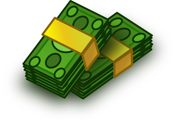 Miney clip cash. Stacks of clipart