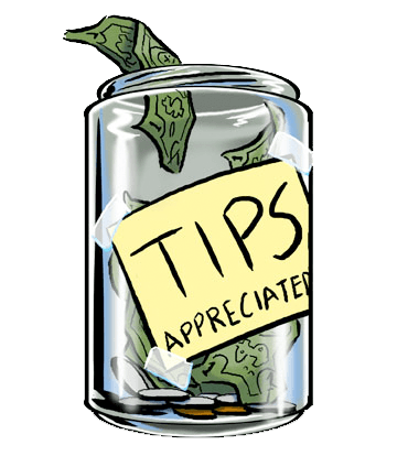 Cash clipart. Tips group with items