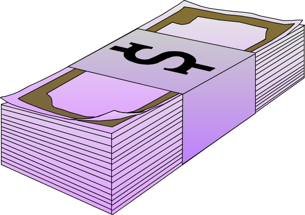 Cash drawing stack money. Vector graphics images
