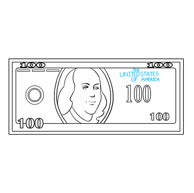 Cash Drawing 100 Dollar Transparent Png Clipart Free Download Ya