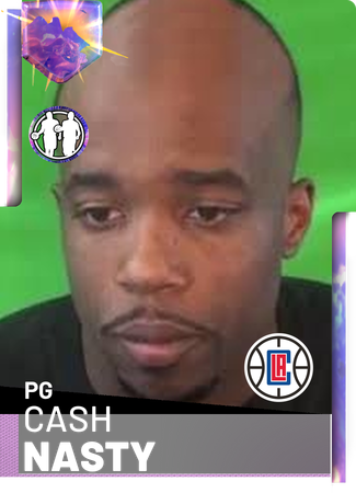 Cash nasty png. Nba k custom card