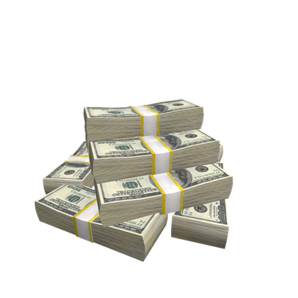 Money pile png. Roblox