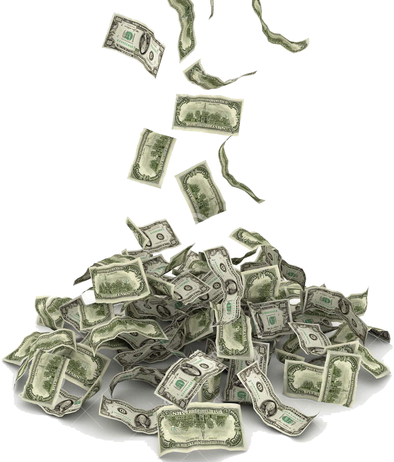 Cash png images. Money transparent pluspng falling