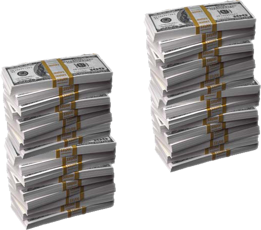 Cash stack png. Of money psd official