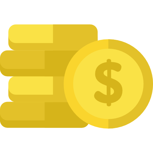 Cash stacks png. Coins stack money currency