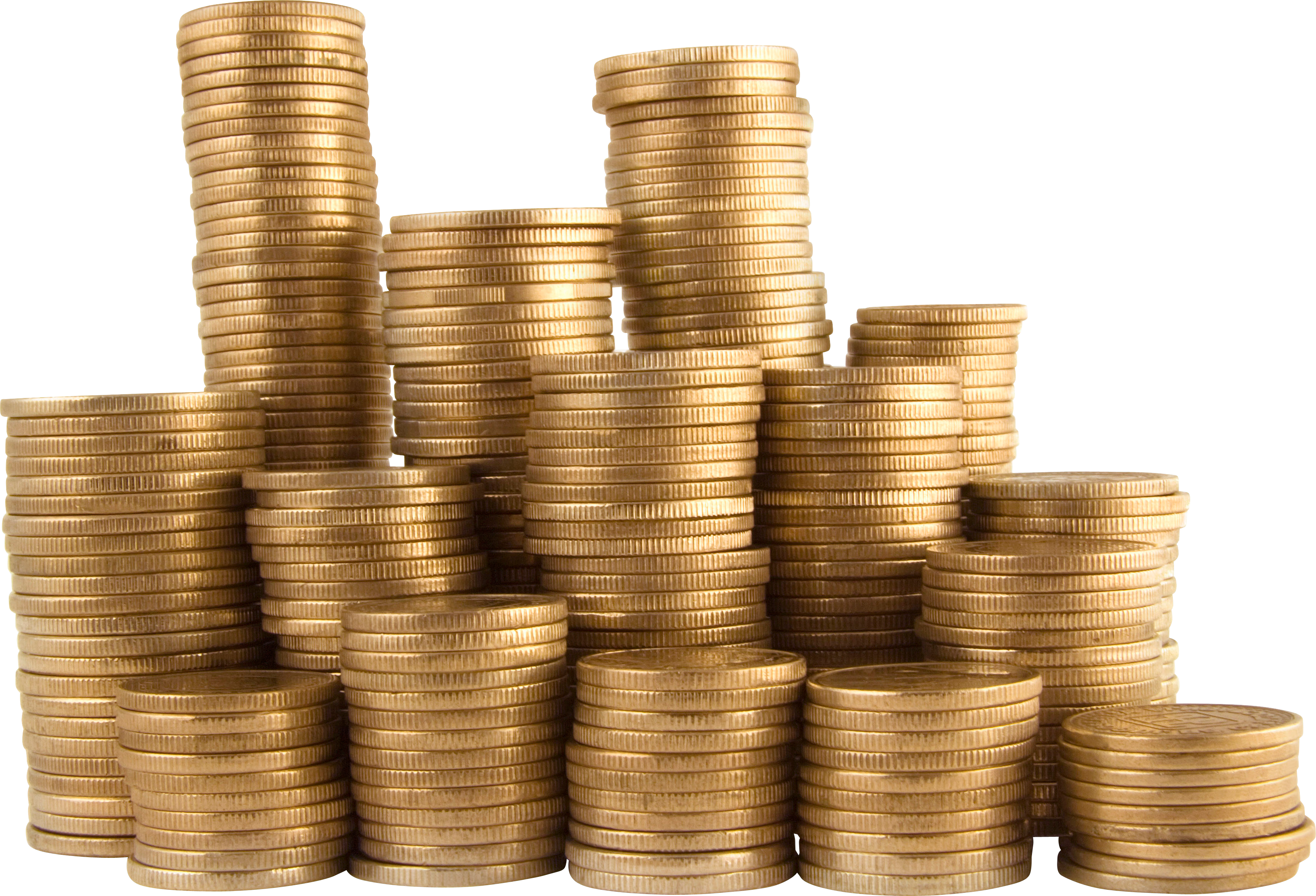 coin pile png