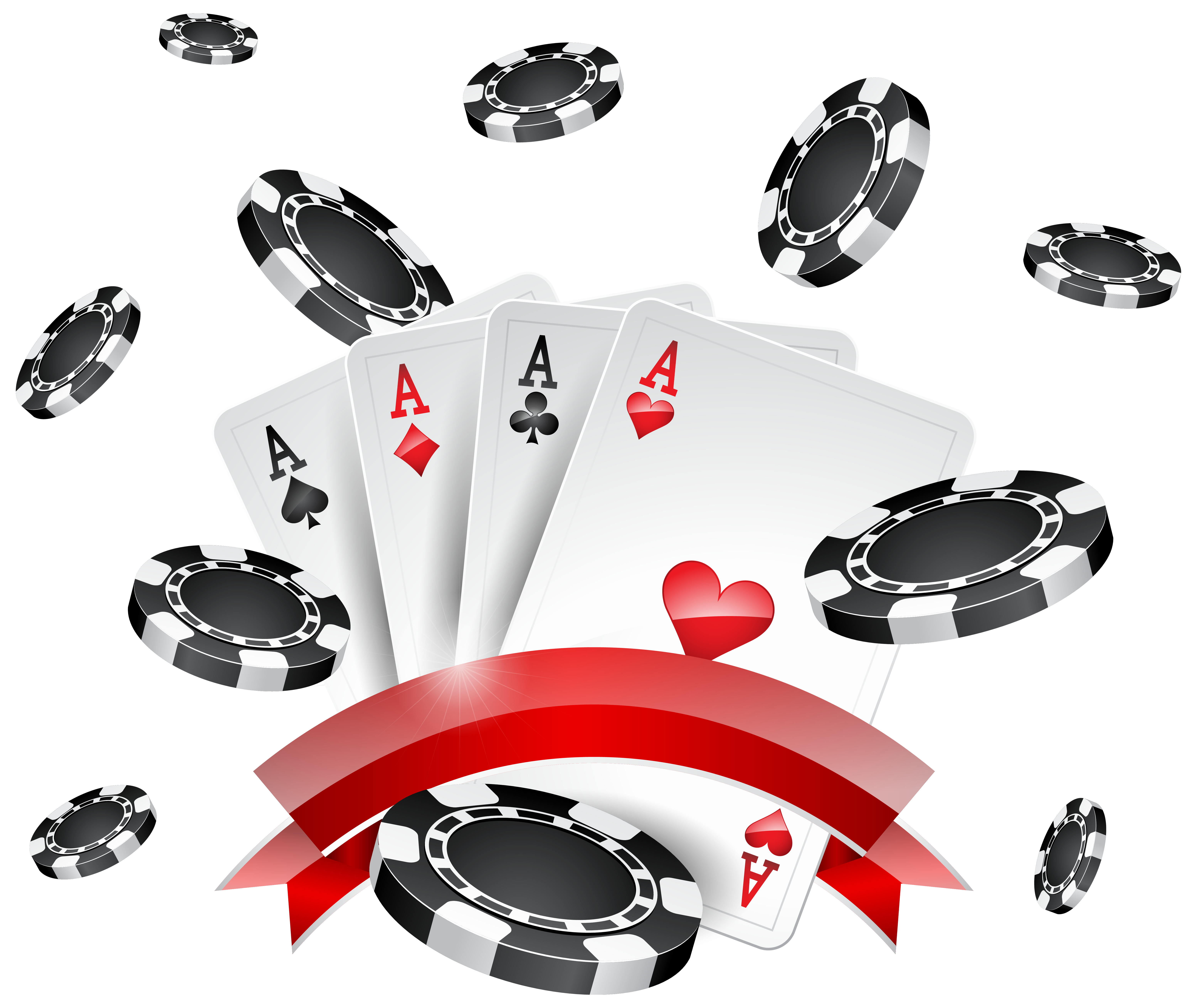 Casino clipart transparent. Chips and cards decoration