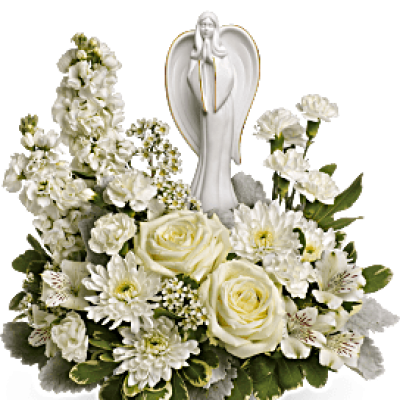 casket flower bouquet png