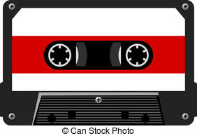 Audio and stock illustrations. Cassette clipart png black and white download