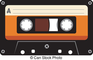 Cassette clipart. Tape stock illustrations clip clip royalty free stock