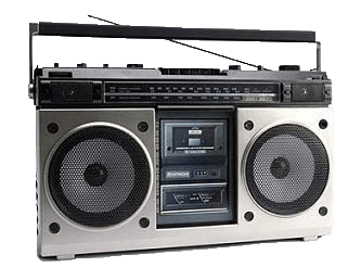Cassette clipart transparent background radio. S png stickpng download