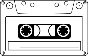 Of tape panda free. Cassette clipart png transparent download