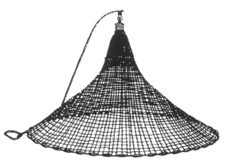 Casting net png. Cast nets throwing your