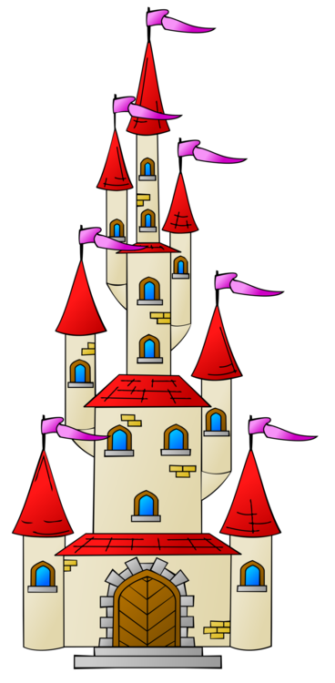 Castle clip palace. Computer icons drawing free
