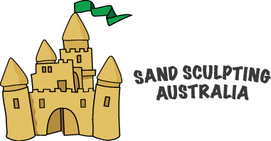 Castle clip sand sculpture. Sculpting australia now at