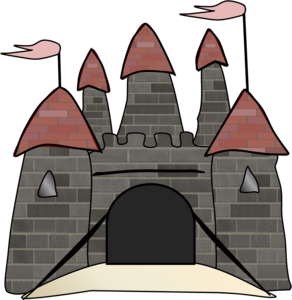 Castle clip vector. Free images at clker