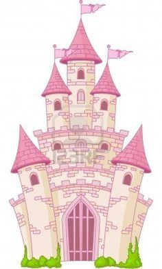 Castle clipart fairytale castle. Fairy tale illustrations pinterest