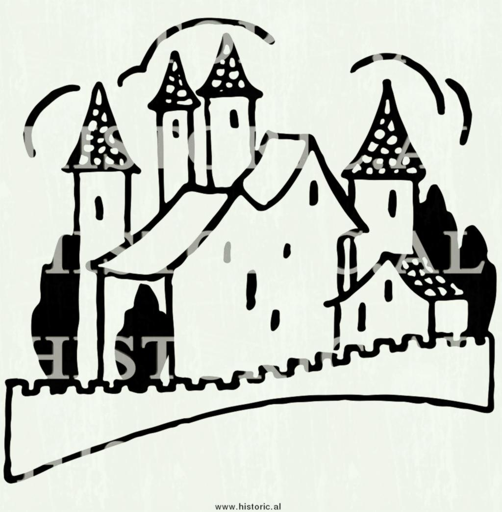 Castle clipart fence. Wooden black and white