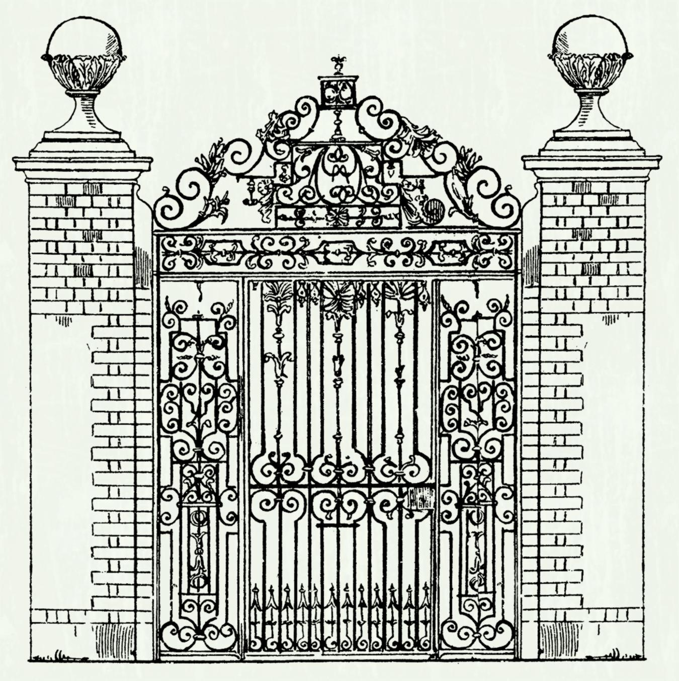 Castle clipart fence. White picket with flowers