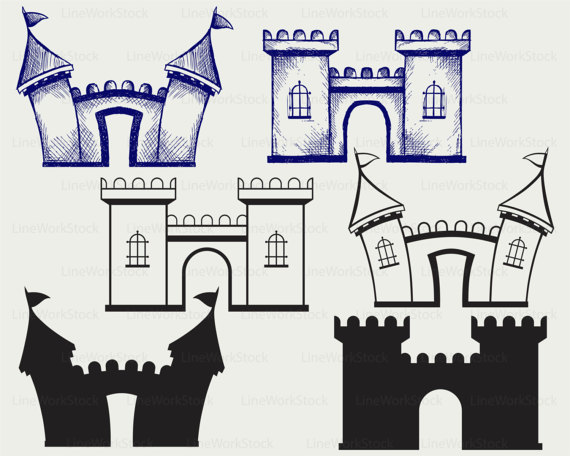 castle clipart fortress