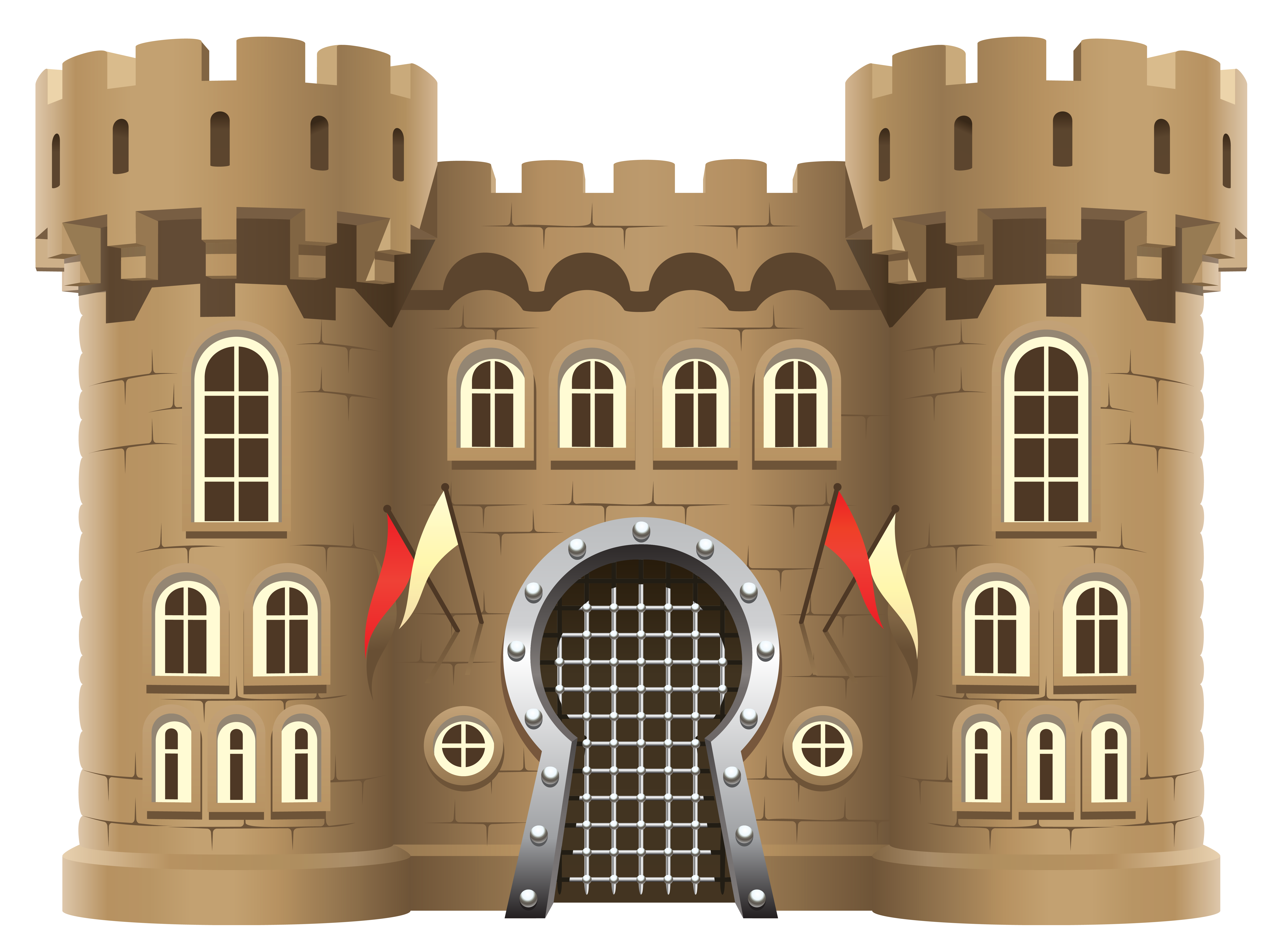 Fortress drawing castle