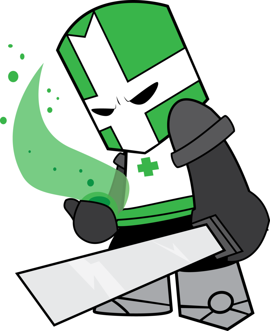 Castle crashers png. Image the green knight