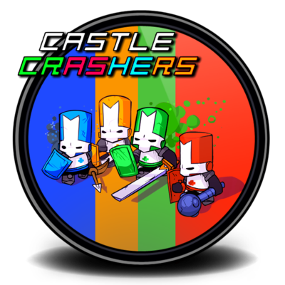 Castle crashers png. V by edook on