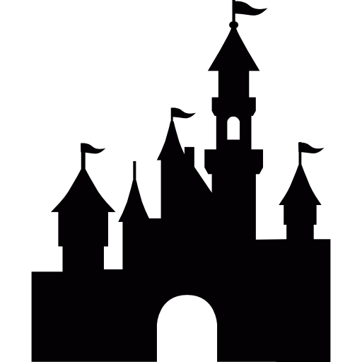 Free monuments icons icon. Disneyland castle png svg freeuse stock