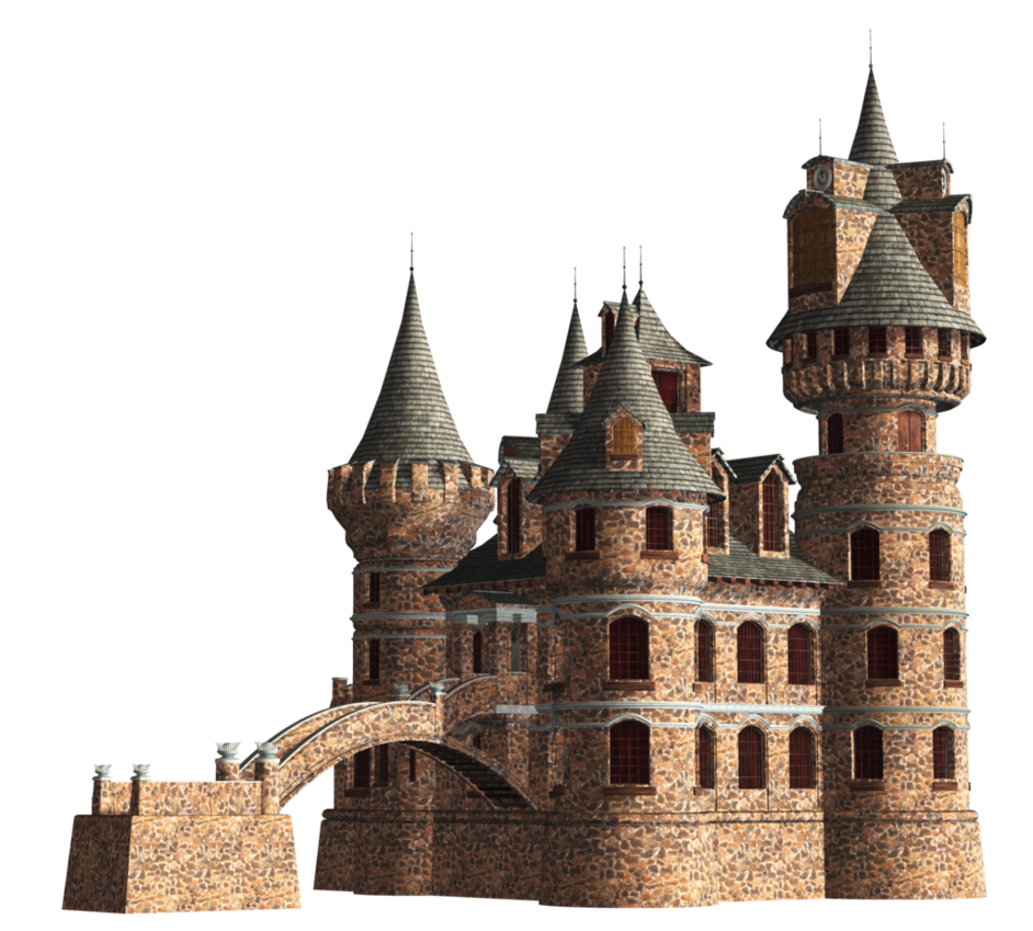Castle png. Stock by roy d