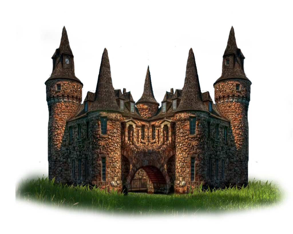 Castle png. Fantasy photo mart