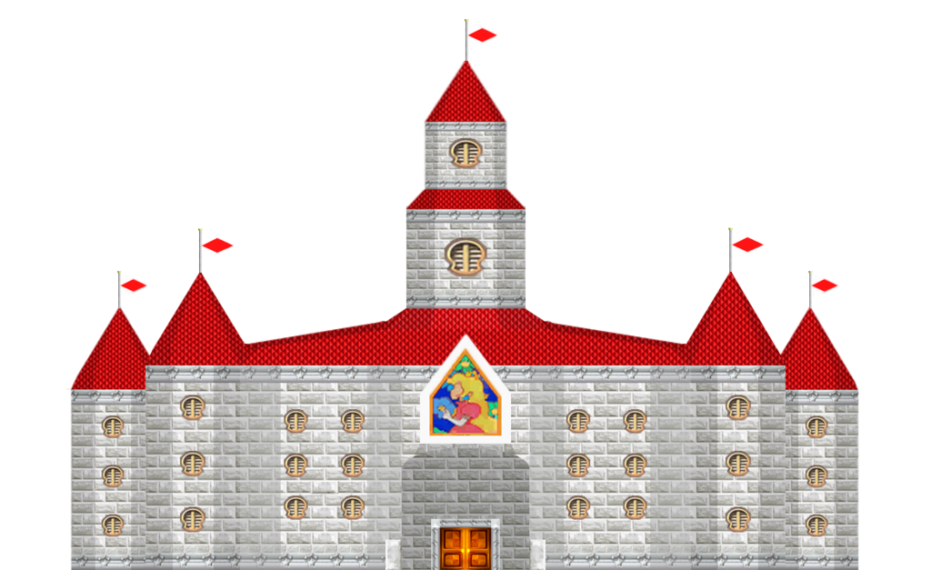 Castle sprite png. Peach s made by
