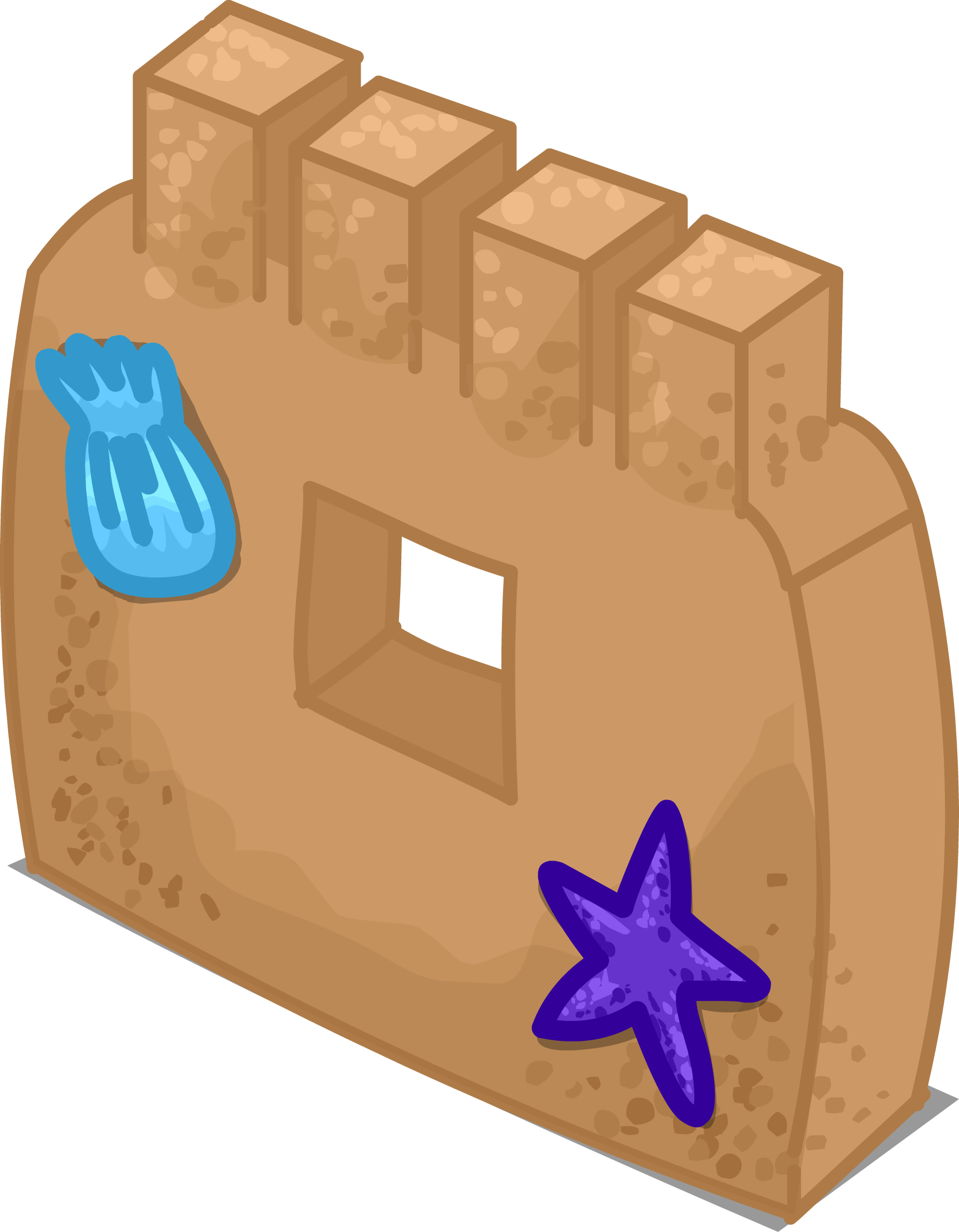 Castle sprite png. Image sand wall club