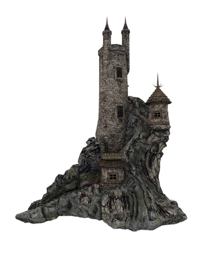 Castle tower png. By lg design deviantart