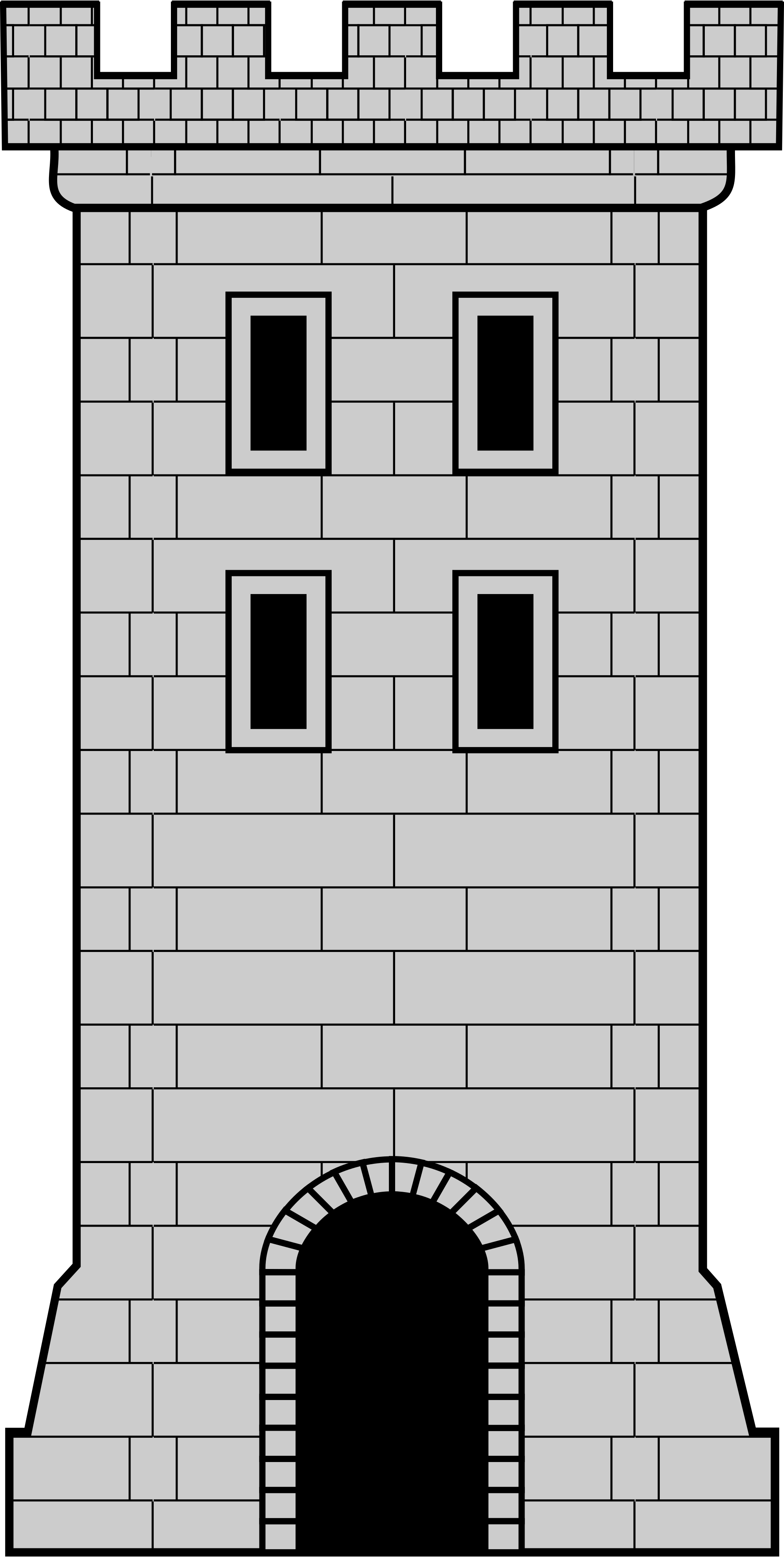 Castle tower png. File svg wikimedia commons