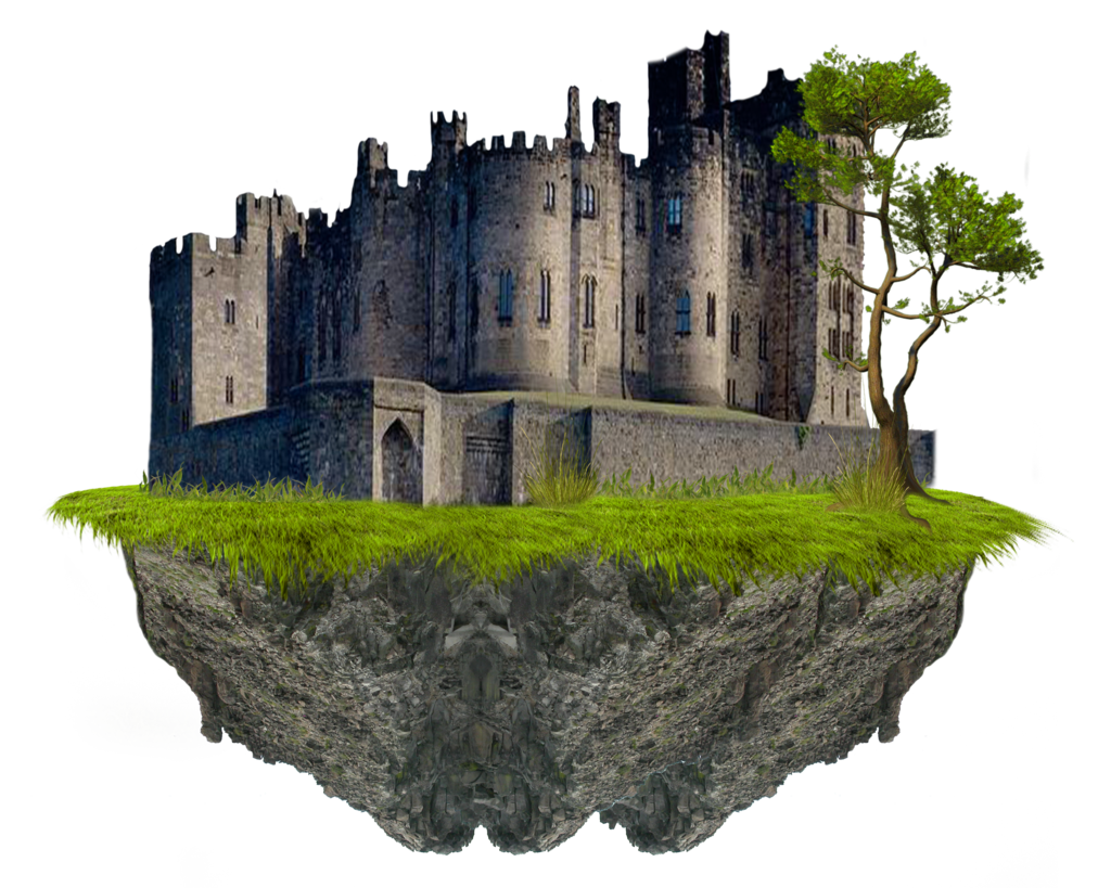 Fantasy png mart. Transparent castle stone freeuse stock