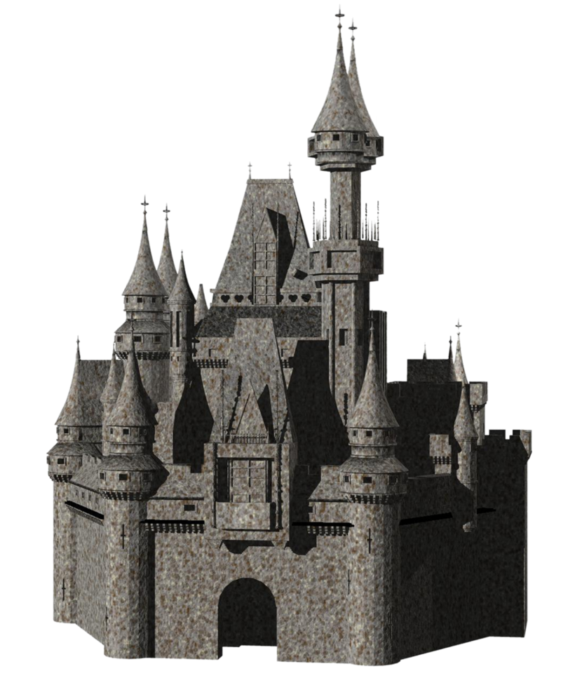 Castle transparent png. By mysticmorning on deviantart