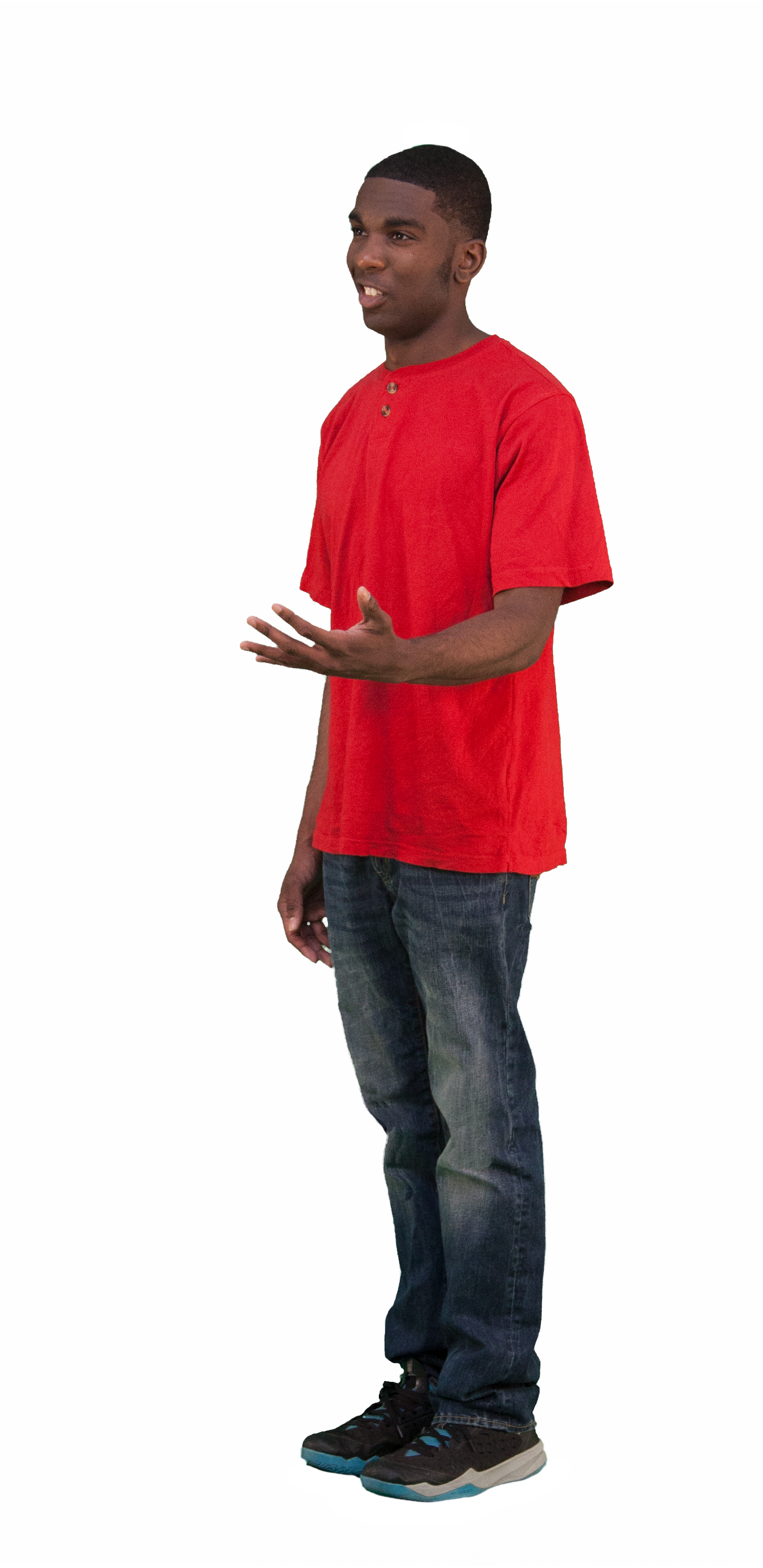 Casual people png. D cut out