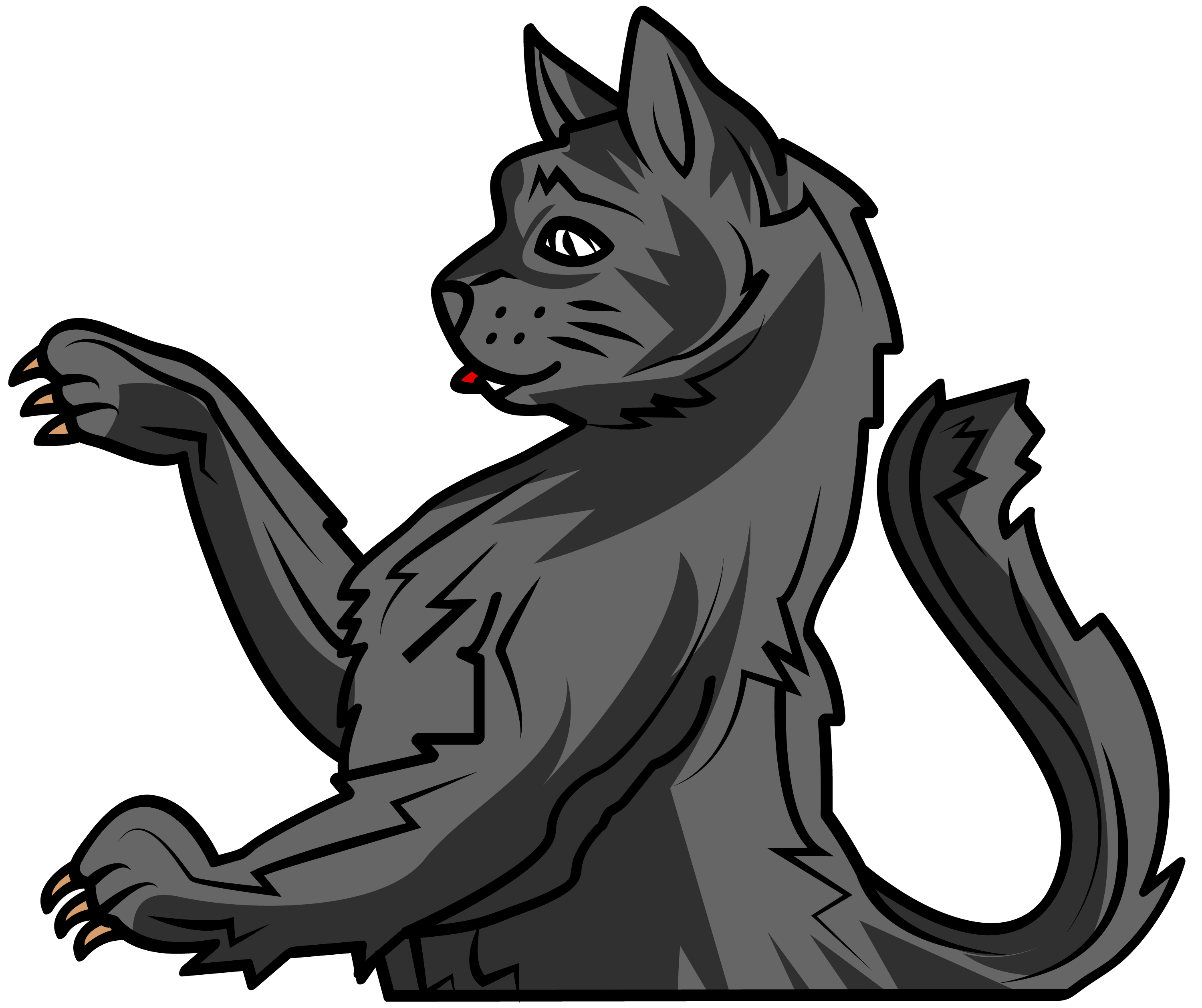 Cat arm png. Myblazon com learn about