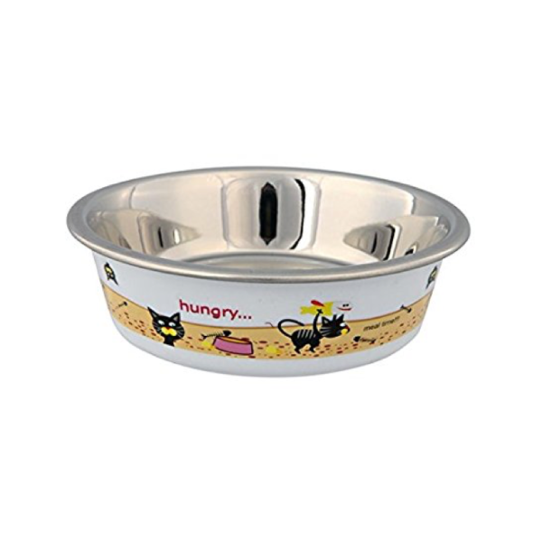 Transparent bowl cat. Trixie bradlands pet supplies