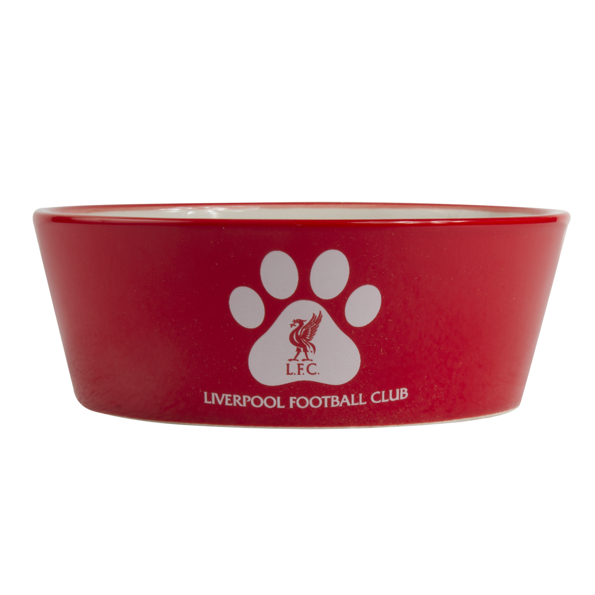Transparent bowl cat. Lfc ceramic liverpool fc