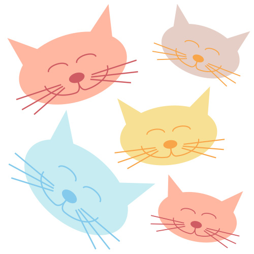 Cat clip art. X jpg happy