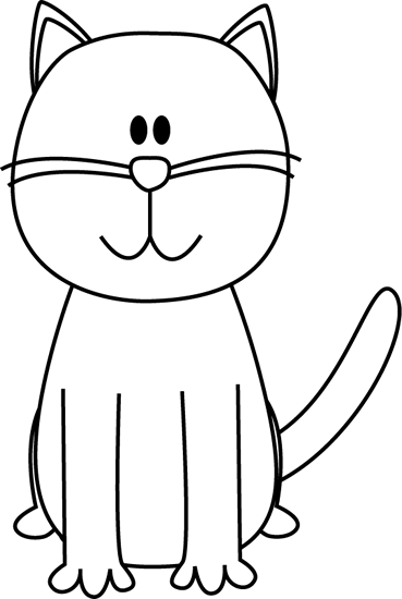 Clipart panda free images. Cat clip art black and white graphic transparent stock