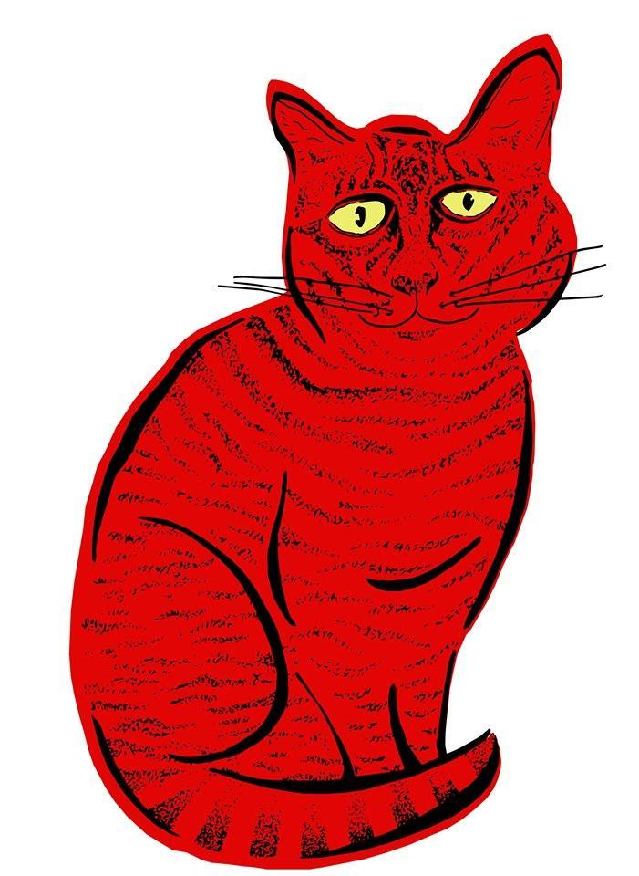 Cat clip art real. Red clipart brewery winchester