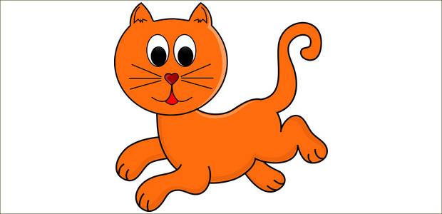 cool collection of. Cat clip art simple vector