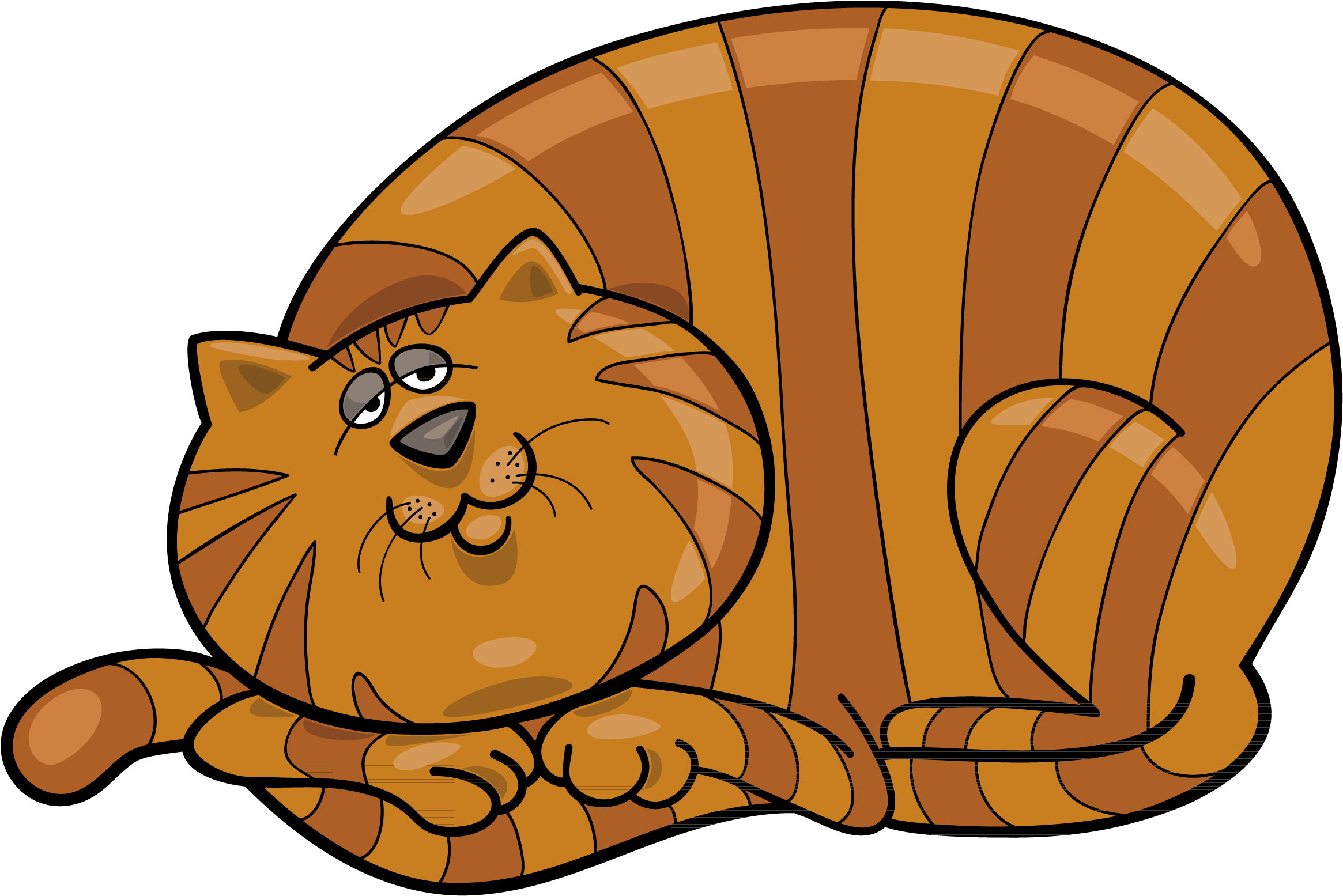 Download fat orange cartoon. Cat clip art tabby svg free