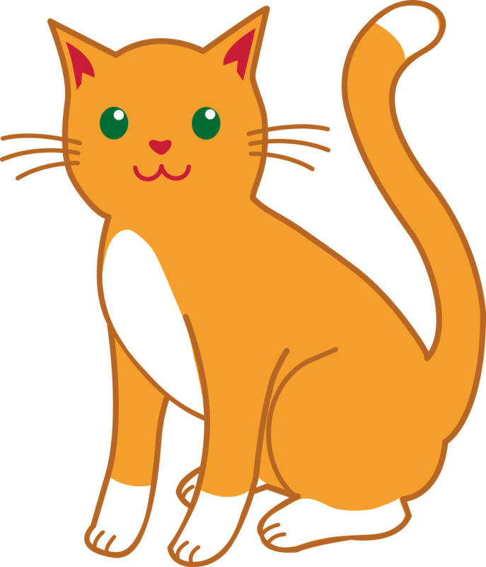 Cat clip art transparent background. Clipart lemonize