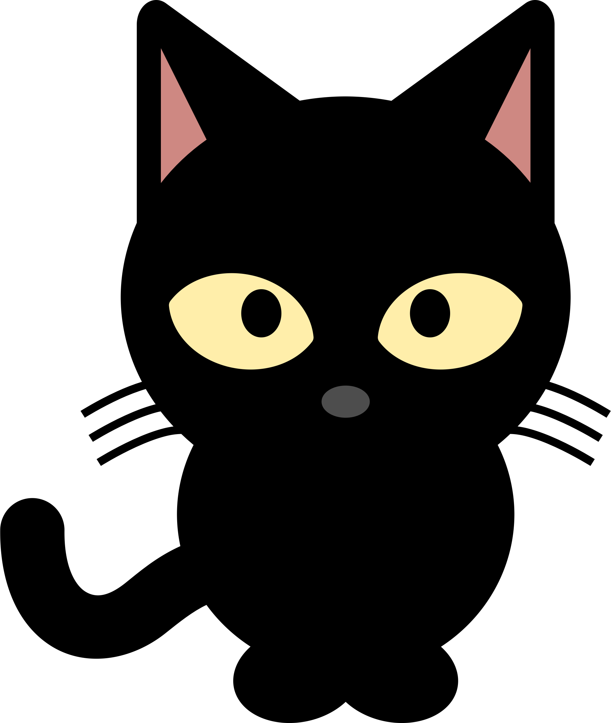 Cat clip art transparent background. Image id png photo