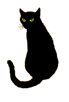 Cat clip art transparent background. Skullblossom free web graphics